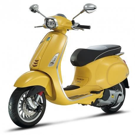 scooter vespa sprint 50cc 2t jaune achat vente scooter. Black Bedroom Furniture Sets. Home Design Ideas