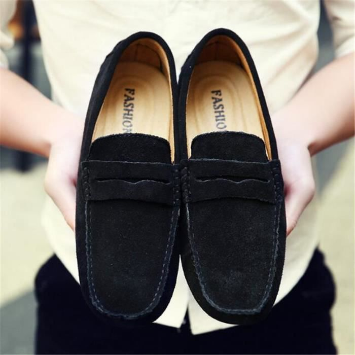 Moccasin homme 2017 nouvelle marque de luxe chaussure 2017 ete Haut qualité Respirant Moccasin Nouvelle Mode Grande