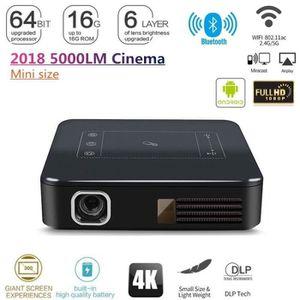 Ensemble home cinéma HD 4K Android7.1 DLP MAISON CINÉMA PROJECTEUR VIDÉ