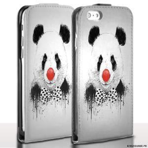 coque clapet iphone 6 panda