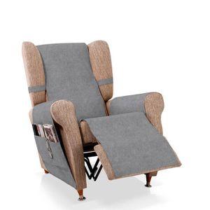 protege fauteuil gris achat vente pas cher. Black Bedroom Furniture Sets. Home Design Ideas