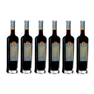 VIN ROUGE Lot de 6 Terre de Berne Rouge AOP Côtes de Provenc