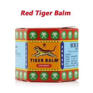 FAUTEUIL Version Red Tiger Balm - Baume Du Tigre Rouge Blan