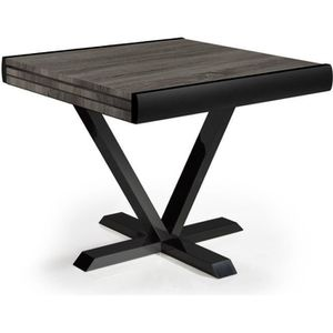 Pas Achat Carree Table Vente Extensible Cher O80knwPX