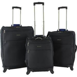 SET DE VALISES Lot de trois valises souples Xtra-Lite 75, 65, 54c
