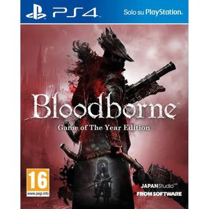 JEU PS4 Playstation 4 Bloodborne - Game of the Year Editio