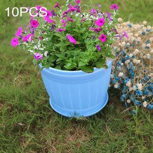 pot de fleurs bleu achat vente pas cher. Black Bedroom Furniture Sets. Home Design Ideas