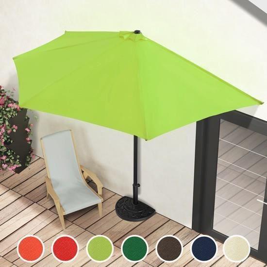 PARASOL EN DEMI LUNE 3M   Achat / Vente parasol PARASOL EN DEMI