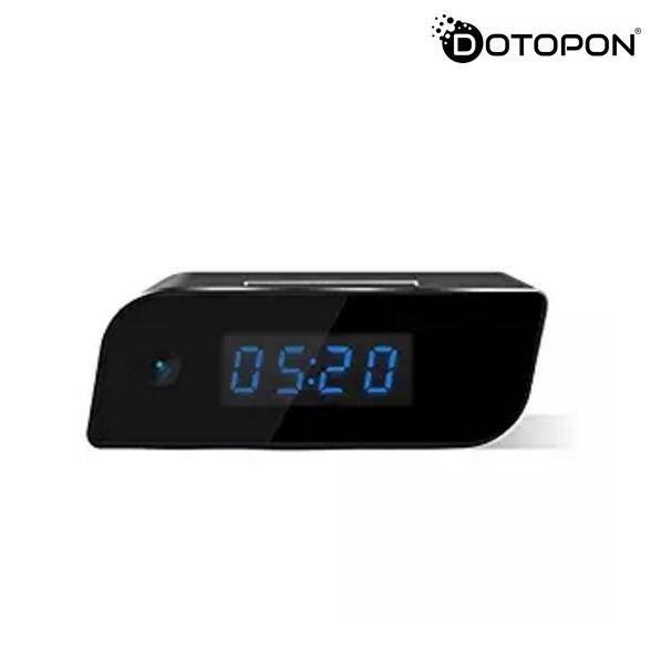 Dotopon®horloge De Caméra Cachée Wi-fi Mise À Jour La Spy Sans Fil Full Hd 1080p Détection Mouvement Activation