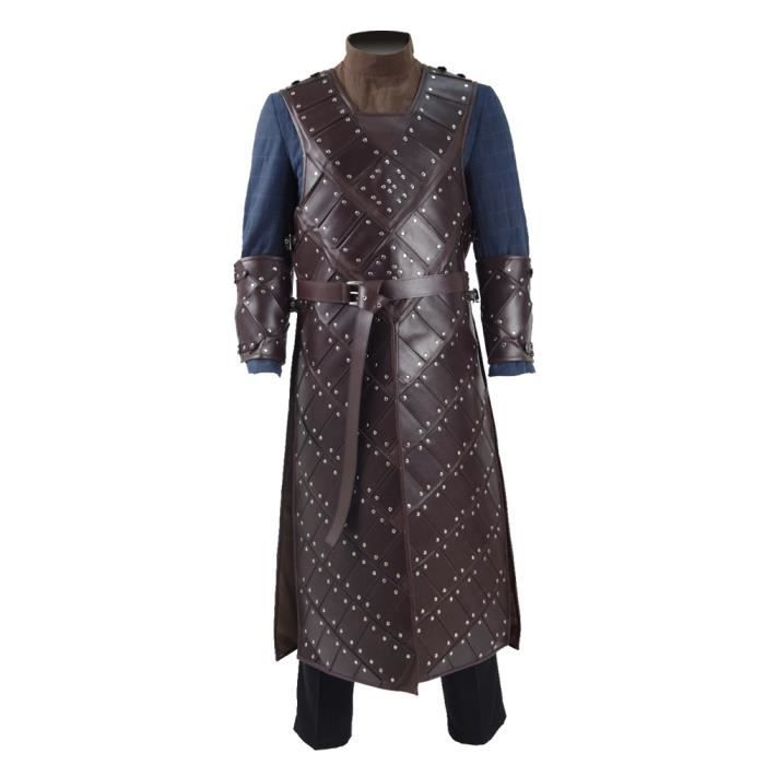greedland d guisement game of thrones jon snow season 6 stark armure tenue complet achat. Black Bedroom Furniture Sets. Home Design Ideas