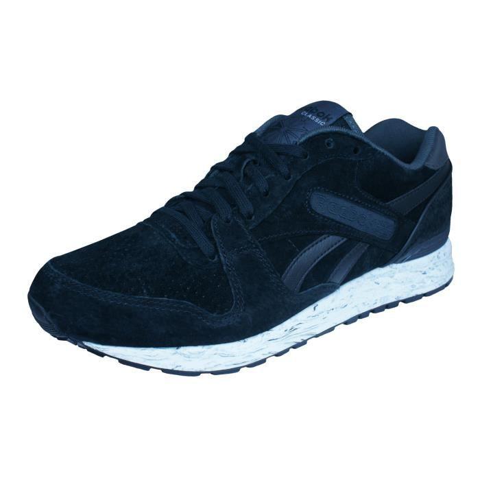 b364f4b1cb79aa Reebok GL 6000 MM Baskets - Chaussures Homme Noir 9.5 Noir Noir ...