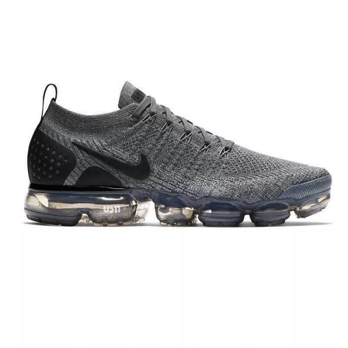 Gris Air Chaussure Pour Nike 2 Vapormax De Homme Flyknit Running OvRxpw1