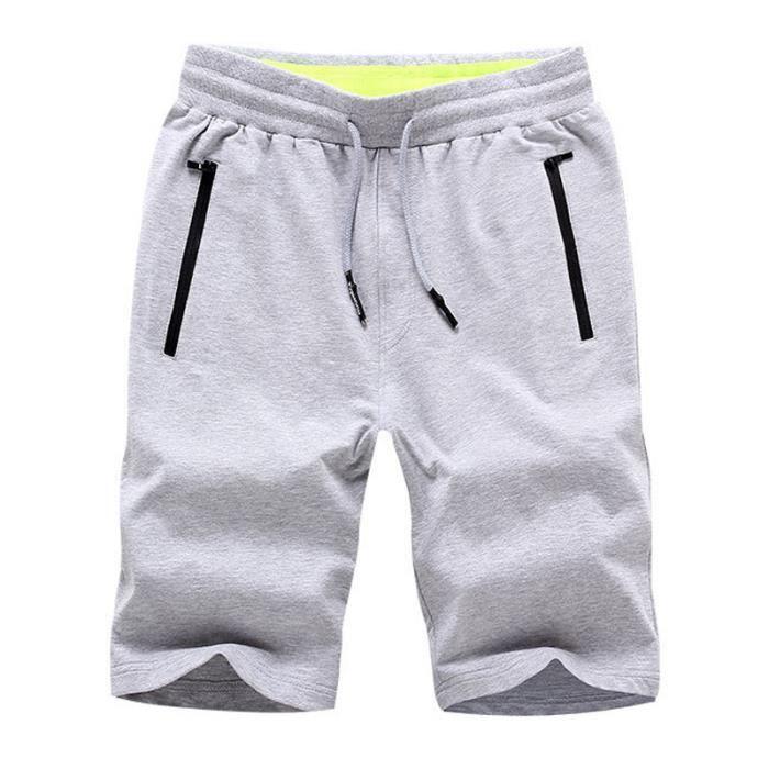 Short coton Homme baggy XXL Short uni Short