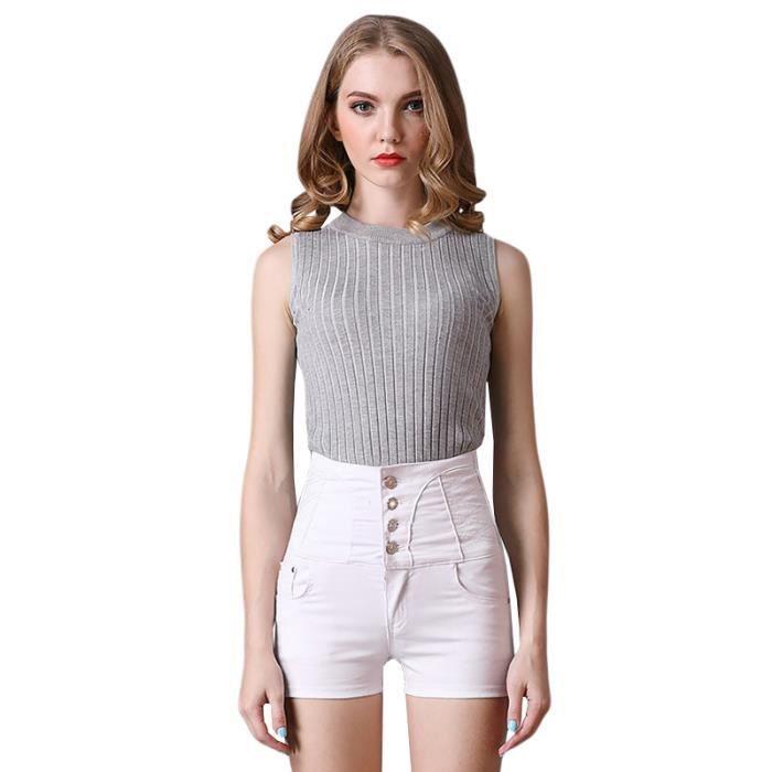 5a9c7c71b8 Short jeans femme grand taille - Achat / Vente pas cher