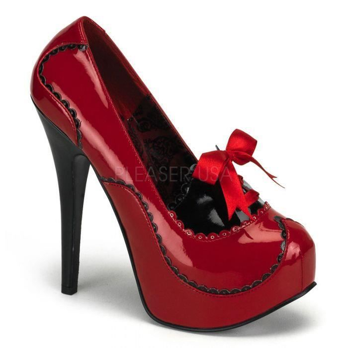 TEEZE-01 Rouge/noir