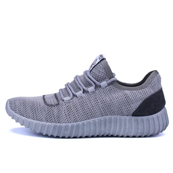 Basket Homme Ultra Léger Chaussures De Sport Populaire LLT-XZ125Gris39