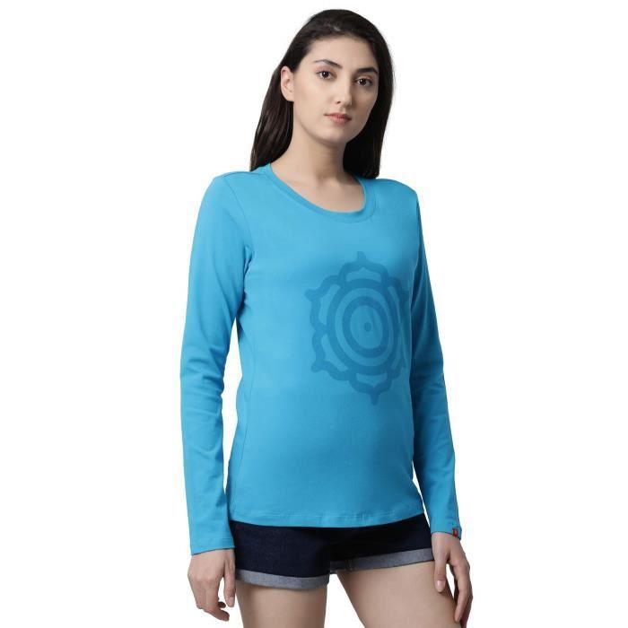 T Pour Yoga 1y2fcn 34 shirt Décontracté Sport Femmes De Taille qwXxrHTqE