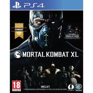 JEU PS4 Mortal Kombat XL Edition Complète Jeu PS4