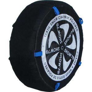 CHAINE NEIGE Chaussette chaine neige textile pneu 155-80R13 hau