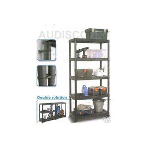etagere plastique achat vente etagere plastique pas cher cdiscount. Black Bedroom Furniture Sets. Home Design Ideas