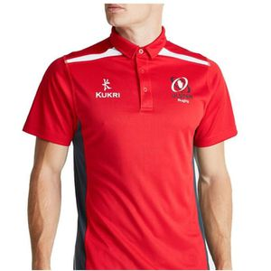 Gloucester Rugby Stirling Polo pour Homme (Noir/Rouge) dk91BQroZ