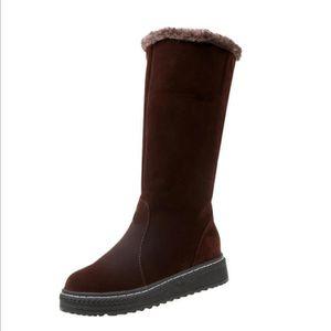 BOTTE Femmes neige bottes de traîneau chaussures de velo