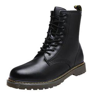 72cef06daedc BOTTE Chaussures Bottes courtes ronde Mode pour hommes T