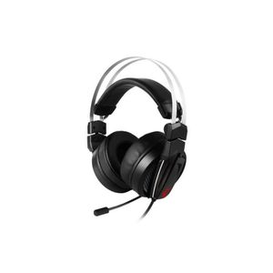 CASQUE AVEC MICROPHONE MSI Immerse GH60 - Casque gaming Hi-Res - Son stér