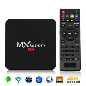 BOX MULTIMEDIA 1G+8G MXQ Pro XBMC Kodi QUAD CORE 4K Android 5.1 L