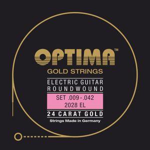 CORDE POUR INSTRUMENT Cordes Optima pour guitares électriques Gold Strin