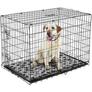 cage chien pliante achat vente cage chien pliante pas cher cdiscount. Black Bedroom Furniture Sets. Home Design Ideas
