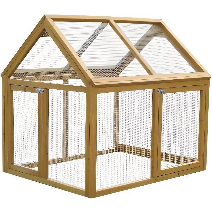 parc grillag c mani achat vente poulailler parc. Black Bedroom Furniture Sets. Home Design Ideas