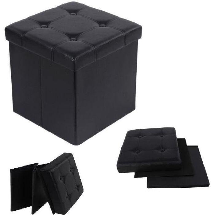 tabouret coffre de rangement achat vente tabouret. Black Bedroom Furniture Sets. Home Design Ideas