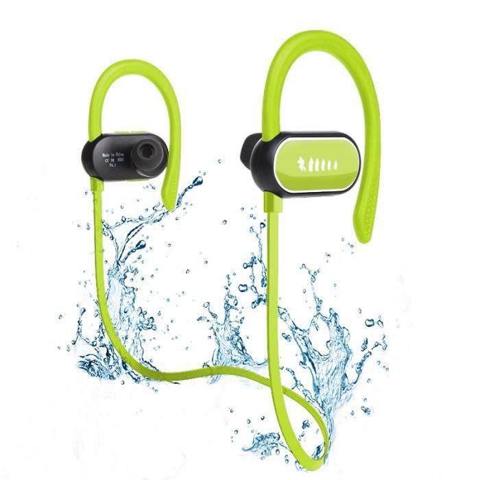 Écouteur Bluetooth Oreillette Étanche IPX7