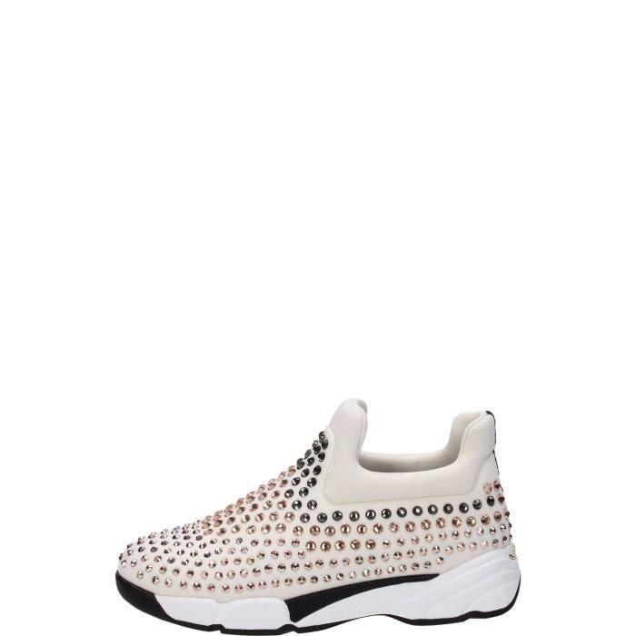 Chaussures De Sport Pour Les Femmes En Vente, Blanc, Cuir, 2017, 36 Pinko