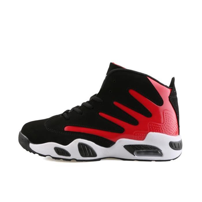 chaussures homme respirantes de chaussures basketball homme hautes pour Étudiant Twq5p548