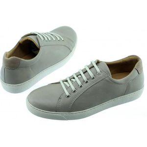 TURIN - Chaussures Homme Tennis Baskets en cuir souple & confortable pointure 39 à 47 fabriqué Portugal cuir noir 0Em4XbJ