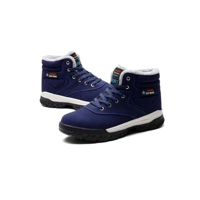 portent hommes coton bottes neige chaud Hiver bottes de bottes des Bottes de qF7KEAwK5