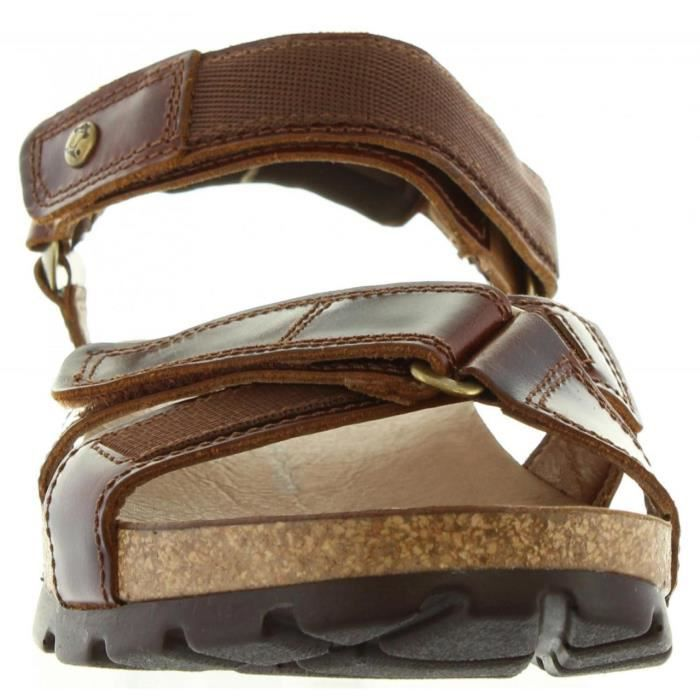 Sandales pour Homme PANAMA JACK SAMBO CLAY C1 PULL-UP CUERO
