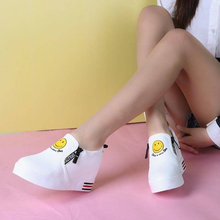 automne chaussure de chaussure et blanc intérieure des 39; Hauteur printemps amp; s sport de sport femmes chaussures nouvelle zxpUwqPf
