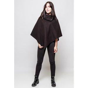 Poncho cape manteau veste femme - Achat   Vente pas cher 865abcf880f