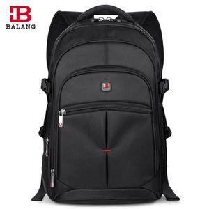 7f47aac57097 SAC À DOS INFORMATIQUE plein grand l ordinateur sac à dos Noir taille L ...