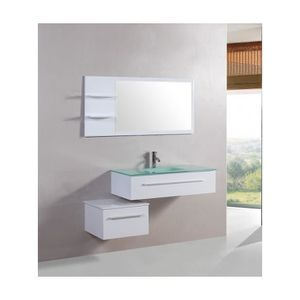 SALLE DE BAIN COMPLETE Magnifique meuble salle de bain lyrics blanc: ense
