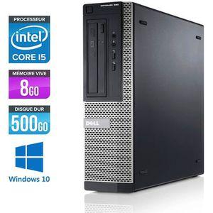 UNITÉ CENTRALE  Pc de bureau Dell 390 DT- i5 - 8 Go - 500 Go HDD -