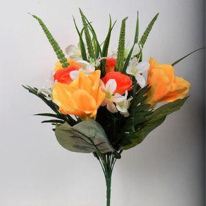 Fleurs en tissu achat vente pas cher for Bouquet de fleurs pas cher livraison gratuite