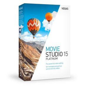 MULTIMÉDIA MAGIX VEGAS Movie Studio 15 Platinum