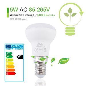 AMPOULE - LED Lot de 4 ampoule LED R39 culot E14 5W blanc chaud