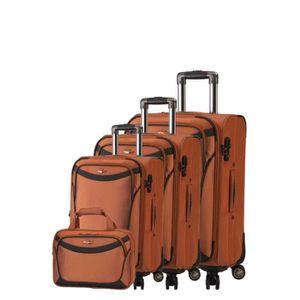 SET DE VALISES Set de 3 valises 4 roues et un sac 48h influent 36