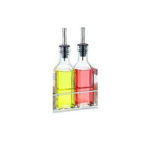ANTI-GOUTTE VIN - BEC  Bouteille de huile et vinaigre en verre - 17cl
