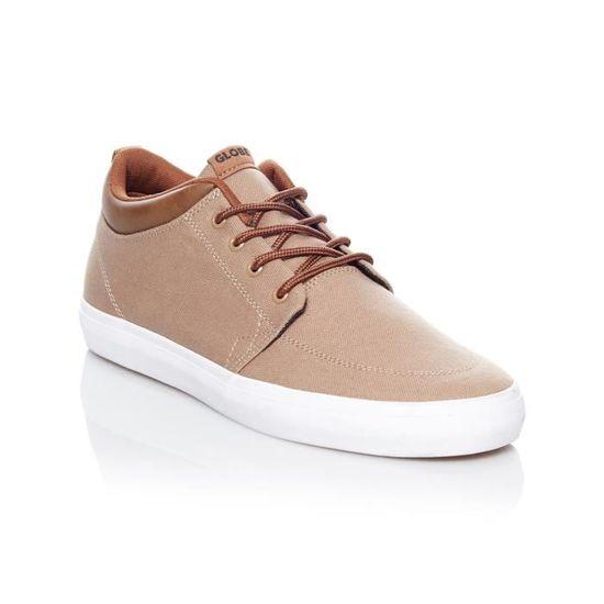 Chaussure Globe GS Chukka Woodsmoke Brun Marron Brun - Achat / Vente skateshoes